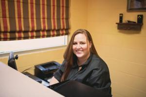 Ashton Dillard -Receptionist Extraordinaire